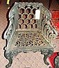 Wrought Iron Chair  &  Side Table