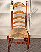 Delaware Valley Ladder Back Side Chair