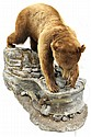 Cinnamon Phase Black Bear full body mount - Montana