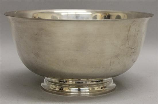 Tiffany & Co. Sterling Silver Footed Bowl