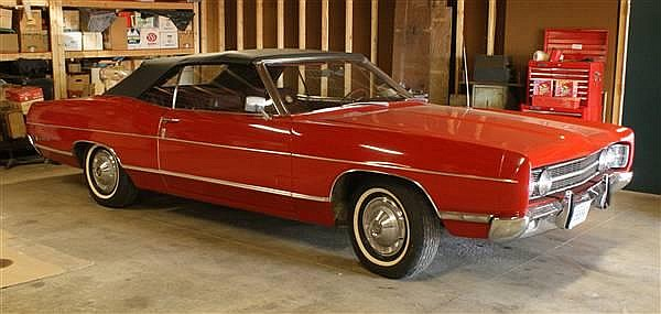 1969 FORD GALAXY 500 CONVERTIBLE