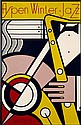 Roy LICHTENSTEIN (1923 - 1997) ASPEN WINTER JAZZ, 1967