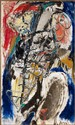 Asger JORN (1914-1973) SANS TITRE, 1958 Huile sur toile