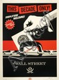 Shepard FAIREY (OBEY GIANT) (n en 1970) SHOPLIFTERS WELCOME, 2012 Srigraphie en couleurs