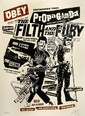 Shepard FAIREY (OBEY GIANT) (n en 1970) FILTH AND FURY, 2006 Srigraphie en couleurs
