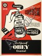 Shepard FAIREY (OBEY GIANT) (n en 1970) COUP D'ETAT, 2012 Srigraphie en couleurs