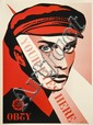 Shepard FAIREY (OBEY GIANT) (n en 1970) YOUR EYES HERE, 2010 Srigraphie en couleurs