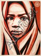 Shepard FAIREY (OBEY GIANT) (n en 1970) BLANKET, 2009 Srigraphie en couleurs