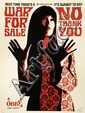 Shepard FAIREY (OBEY GIANT) (n en 1970) WAR FOR SALE (CREAM EDITION), 2007 Srigraphie en couleurs