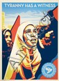 Shepard FAIREY (OBEY GIANT) (n en 1970) TYRANNY HAS A WITNESS, 2011 Srigraphie en couleurs