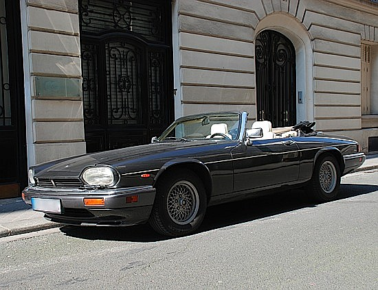 JAGUAR XJS HE V12 Cabriolet - 1989 #SAJJNADW40DM163663 Couleur gris anthracite mtal, sellerie en cuir magnolia  passepoils ...