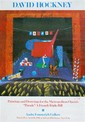 DAVID HOCKNEY - Color offset lithograph poster, David Hockney, &#x0024;1,200