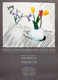 DAVID HOCKNEY - Color offset lithograph poster, David Hockney, &#x0024;300