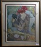 Barbara Wood ltd. ed. signed litho
