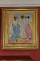 Modern British School  Cuban Dancers  oil on board