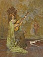 Henry Meynell Rheam (1859-1920) The Guitar Player