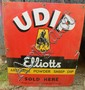 A Udip enamel sign 45.5 x 38 cm