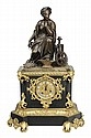Louis Philippe Gilt Bronze Shelf Clock