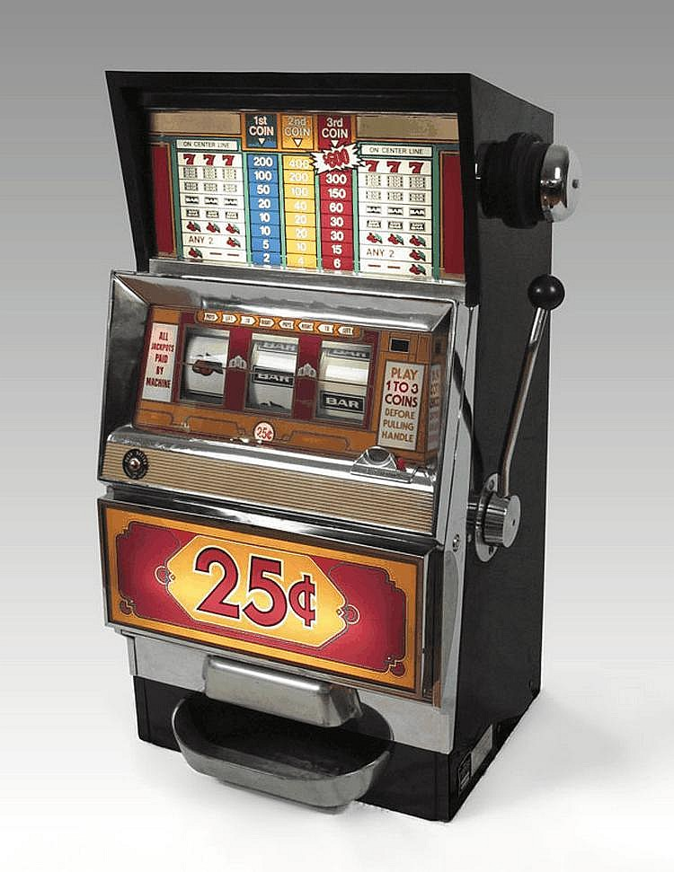 25 cent machine
