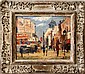 School of Paris oil painting mid century