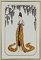 Erte Serigraph titled 
