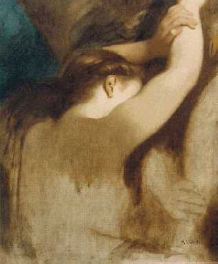 CHARLES ZACHARIE LANDELLE (FRENCH, 1812-1908) Study for