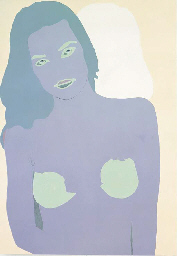 Gary Hume (B. 1962) Untitled (Portrait of Zoe)