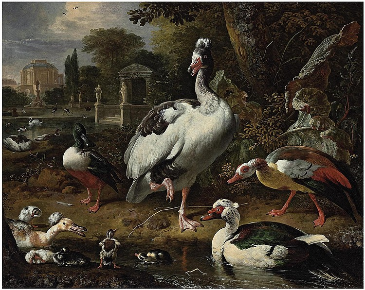 Melchior d'Hondecoeter (Utrecht 1636-1695 Amsterdam) 
