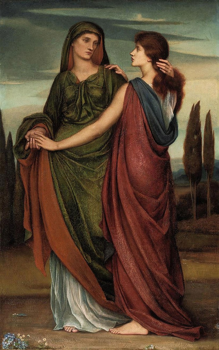 Evelyn De Morgan, ne Pickering (1855-1919) 