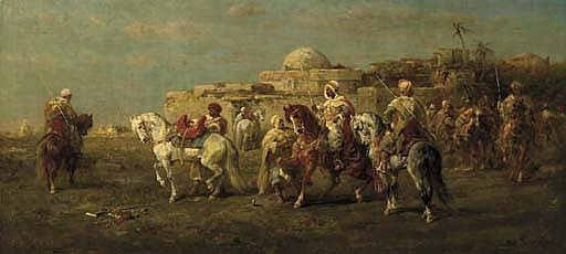 Arab Horsemen