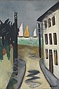 Kleine Landschaft, Viareggio, Max Beckmann, Click for value