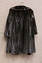 Lady's Russian ermine coat