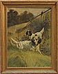 Painting, Follower of Edmund Henry Osthaus, Hunting Dog Scene