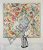 N. Rockwell The Connoisseur Lithograph