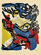 Karel Appel COMPOSITION Color lithograph