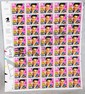 L13 ELVIS PRESLEY UNCUT STAMP SHEET 1ST DAY ISSUE JANUARY 8 1993