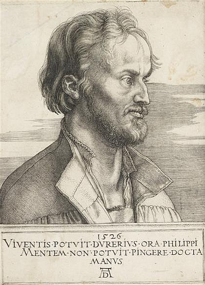 ALBRECHT DRER, (GERMAN 1471-1528), PHILIP MELANCHTHON