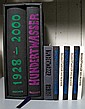 9 vols.  Hundertwasser Illus. Books: New Zealand. Two copies of the preceding. New York. Two copies of the preceding. Germany: Gruen...