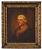 American School 19th century After Rembrandt Peale (1778-1860), portrait of thomas jefferson (1743-1826), Oil on canvas, framed.