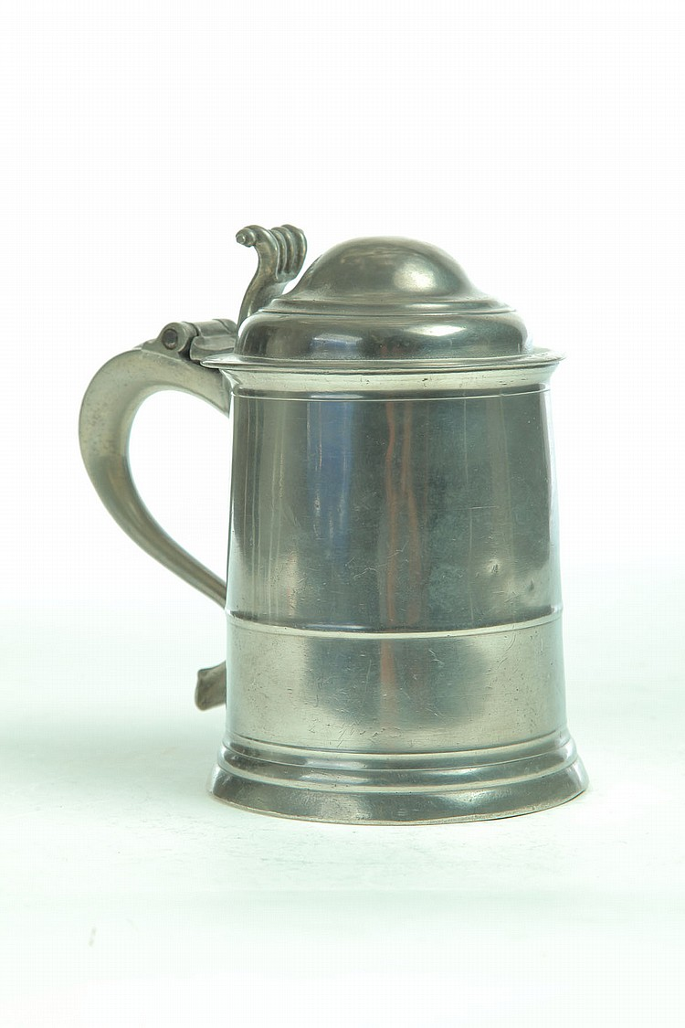PEWTER TANKARD.