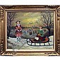 THOMAS ATTARDI (ITALIAN/AMERICAN 1900-), OIL ON, Thomas Attardi, Click for value