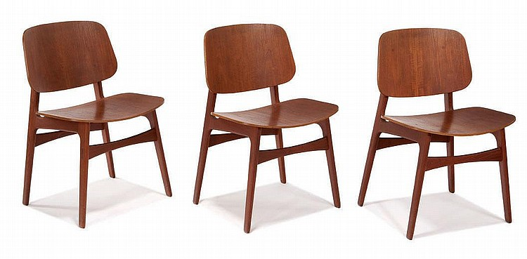 Borge Mogensen, Dining chairs (6)