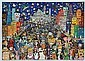 JAMES RIZZI (AMERICAN, 1950-2011) Halloween in the USA 1986 3D screenprint 30/175