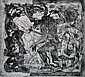 ELAINE HAXTON (1909-1999) Theseus and the Minotaur 1967 etching 5/6 (second state)