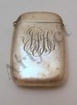 Monogrammed Sterling Lighter Case