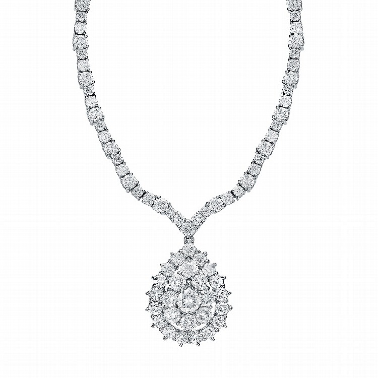 17.49ct Diamond Necklace