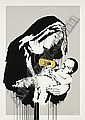 Banksy, Toxic Virgin screenprint in colours, 2003,,  Banksy, Click for value