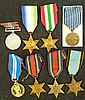 A collection of medals stamped Burma Star (2),