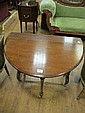 A VICTORIAN MAHOGANY SUTHERLAND TABLE the