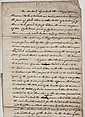 Science - William Playfair manuscript document